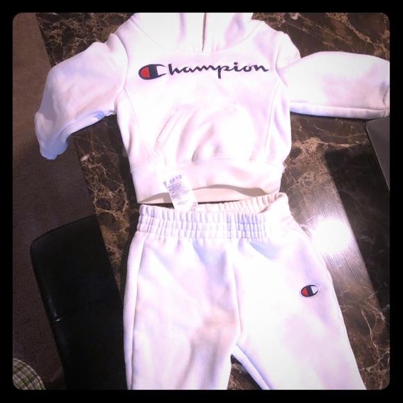 685879cd0 Champion Matching Sets | Baby Boy Sweatsuit | Poshmark